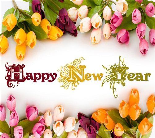 Happy new year rose images naya saal