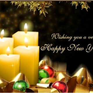 Happy New Year animated wallpparer 2016