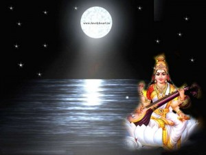full hd saraswati ji wallpaper