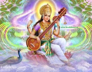 ma saraswati hd image