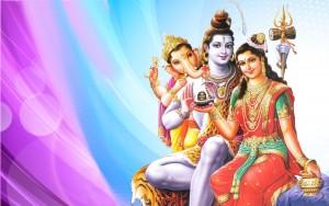 shiv parvati ganesh wallpaper 2015