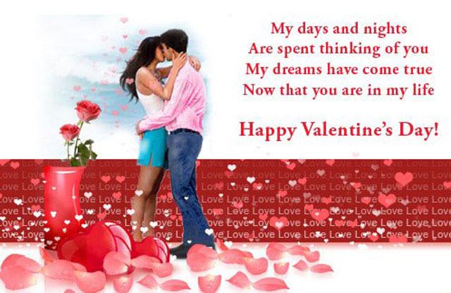 valentine day wishes in english
