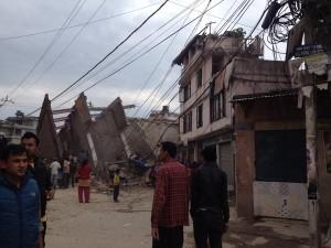 earthquake in Nepal photo