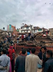 earthquake in nepal kathmandu
