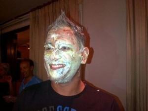 dhoni cake birthday photo