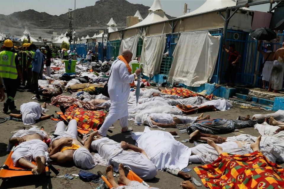 mecca stampede 2015