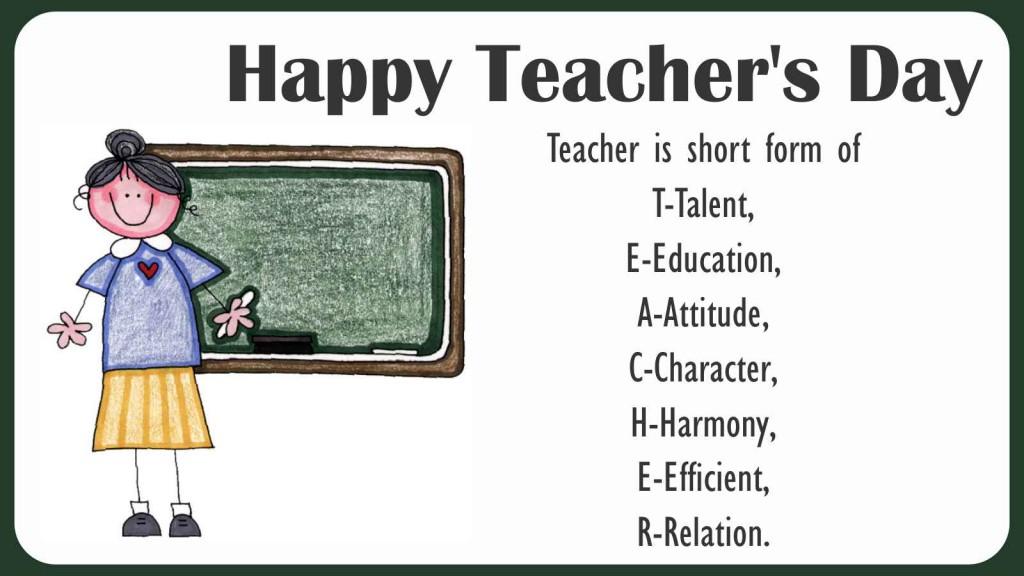 teachers day 2015 teacher meaning