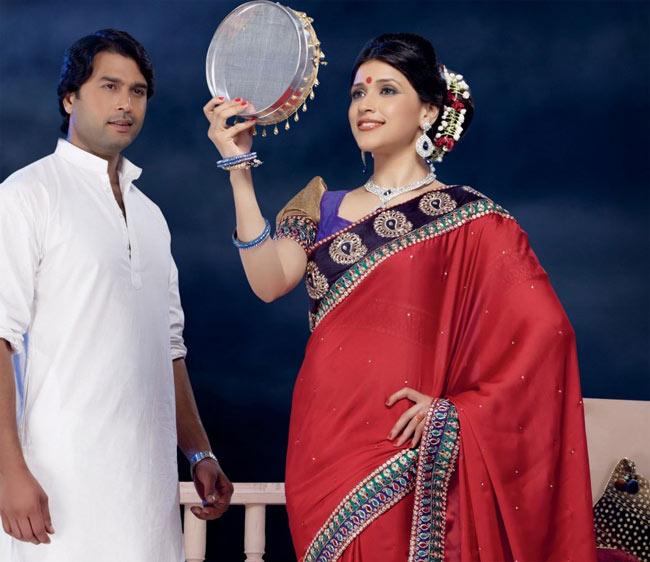 karva-chauth 2015 cute couples