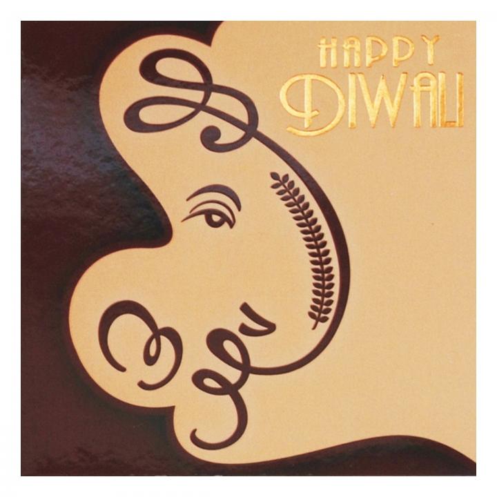 Handmade Easy Happy Diwali Greeting Card 2015
