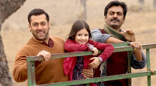 Harshali Malhotra with salman Khan Images latest