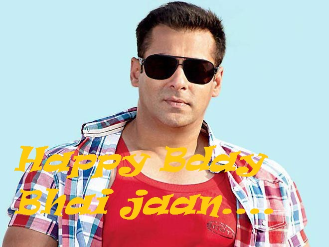 Salman khan's Birthday wishes in Hindi English Salman Khan Bday Photos