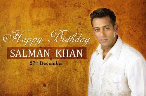 happy bday Salman Khan Bhai jaan 2015