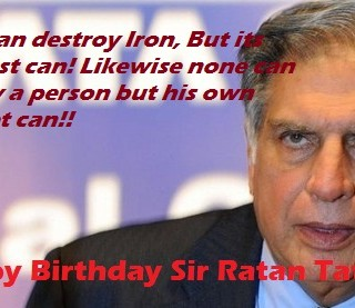 happy birthday Rtan Tata 28th Dec