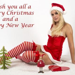 merry chrismas hot girls images