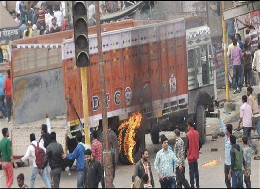 Jat_AndolanArmy in haryana pics