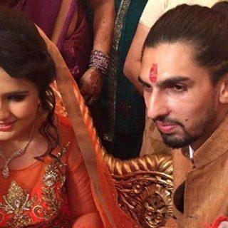 pratima singh ishant sharma 's wife ishant sharma ki magni ki pics