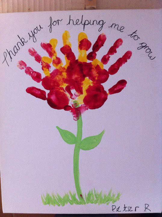 handmade teacher's day card making stepstep with pics